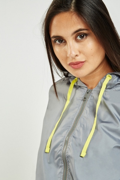 Hooded Zipped Water Proof Jacket