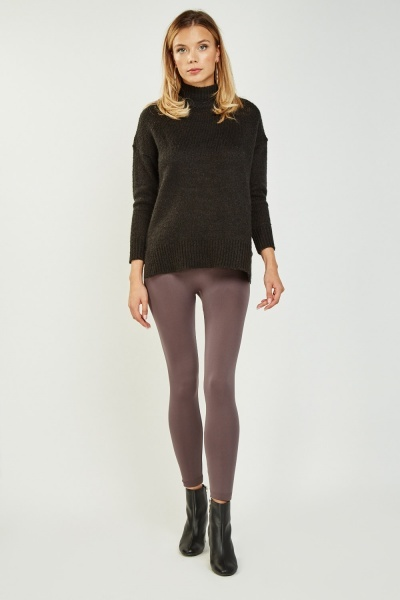 Basic Elastic Leggings