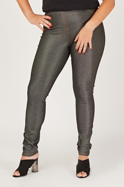 Casual Skinny Fit Jeggings