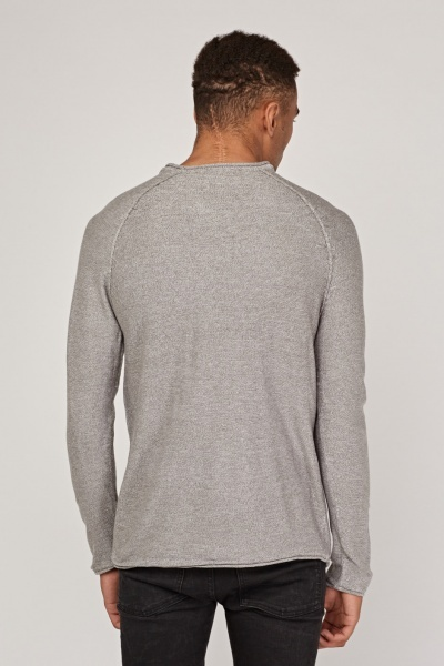 Raglan Sleeve Knitted Jumper