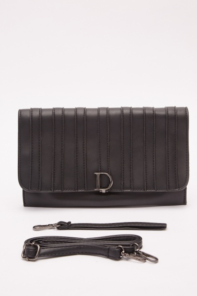 Detailed Front Clutch Bag