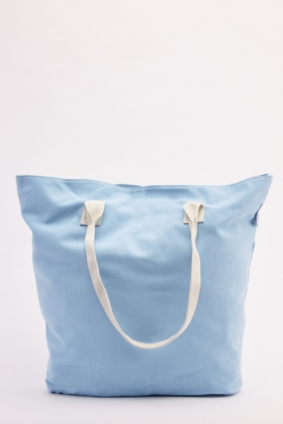 Textured Tote Bag Set