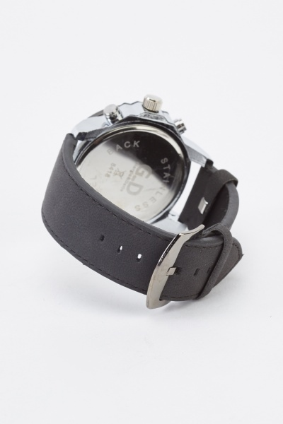 Chunky Chronograph Watch