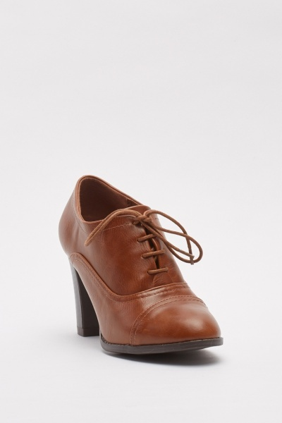 High Heeled Brogues