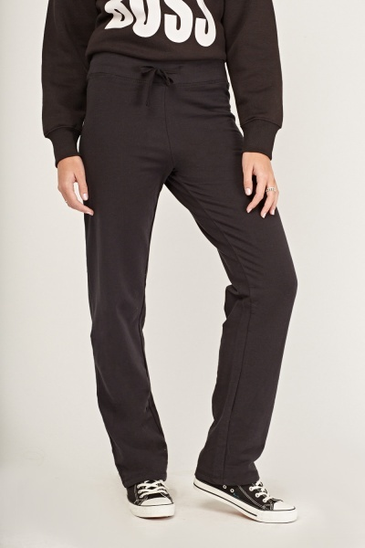 Straight Fit Jogger Pants