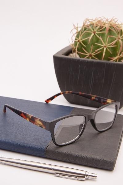 Black Tortoise Reading Glasses