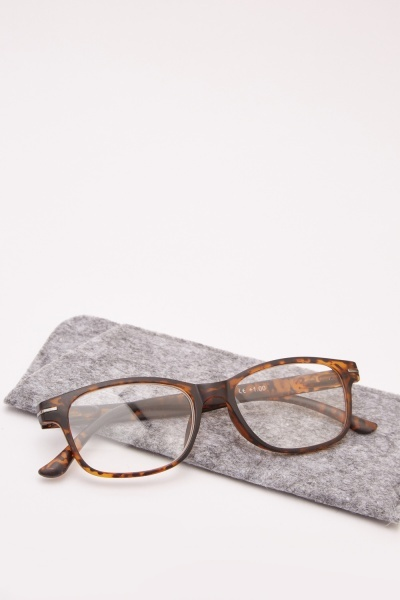 Brown Tortoise Reading Glasses