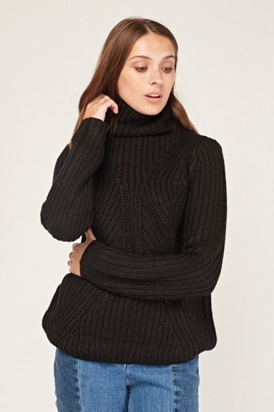 Turtle Neck Slouchy Jumper