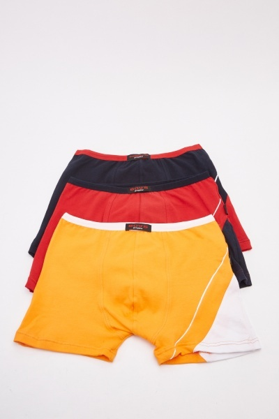 Pack Of 3 Boys Boxers