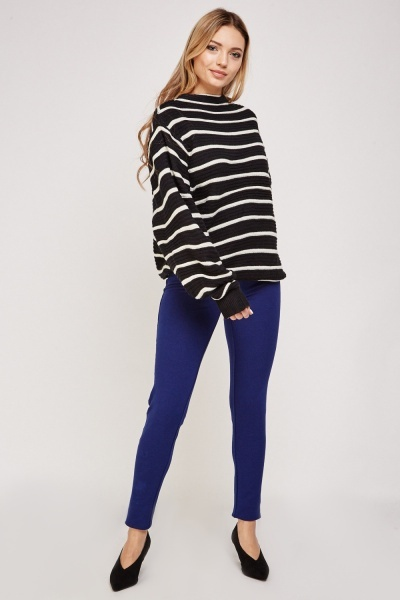 Low Waist Jersey Jeggings