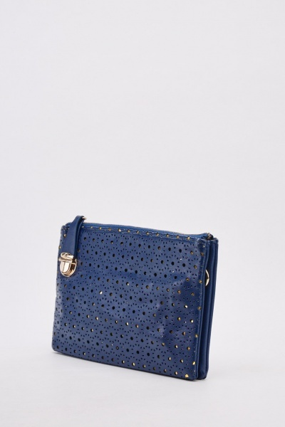 Laser Cut Clutch Bag