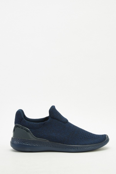 Men's Slip-On Knit Trainers