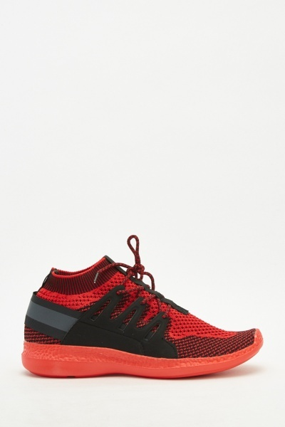 Men's Speckled Knit Trainers