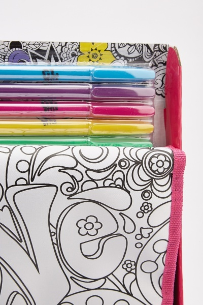 Colour Your Own Fashion Carry Bag