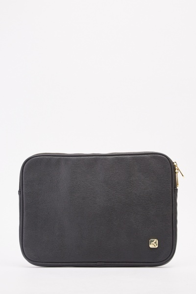 Faux Leather Laptop Case