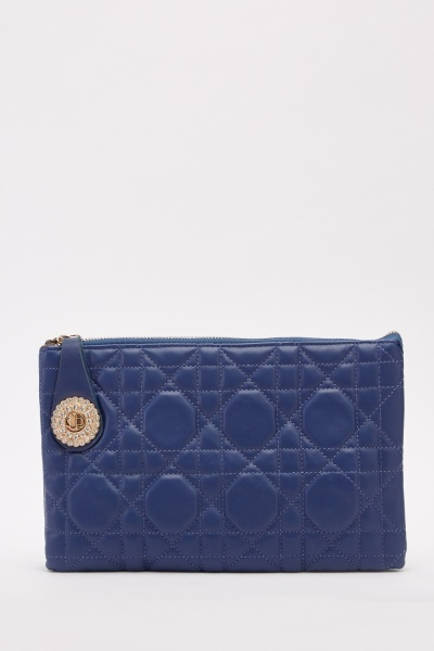Quilted Classic Clutch Bag