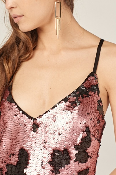 Dual Sided Sequin Cami Top