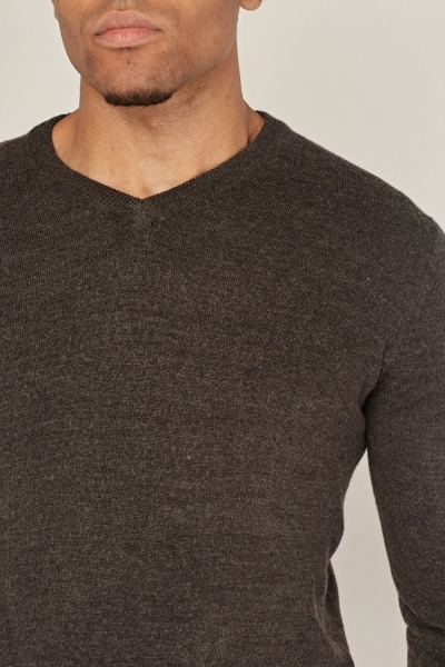 Speckled Fine Knit Sweater