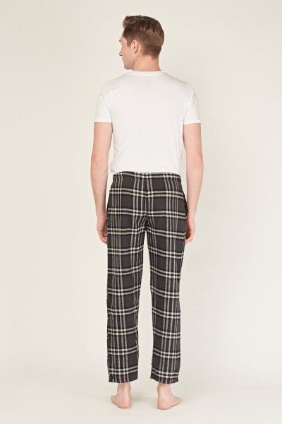 Checked Casual Pyjama Bottoms