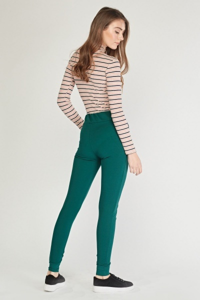 Plain Skinny Fit Trousers