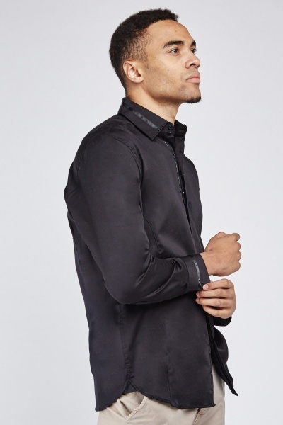 Long Sleeve Plain Shirt