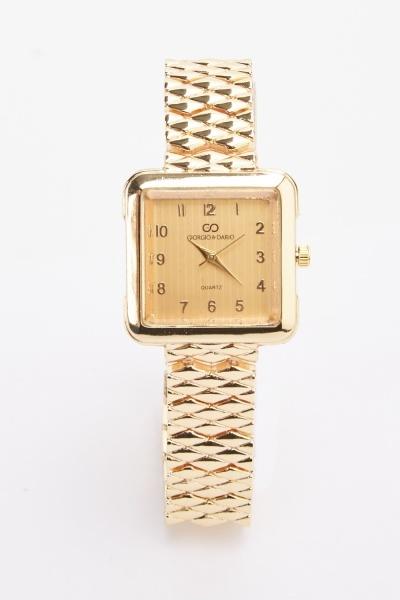 Classic Chain Strap Watch