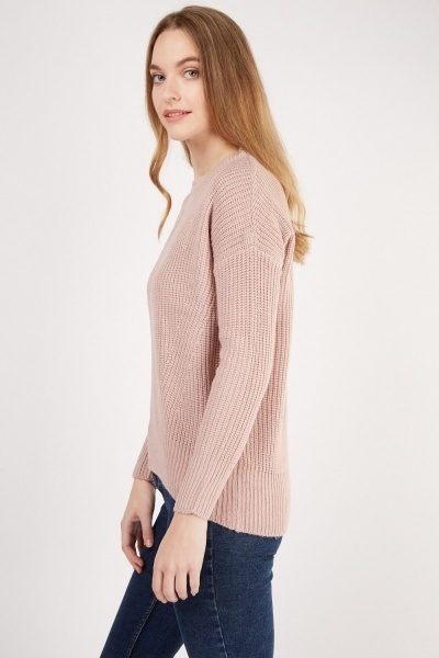 Chunky Knit Casual Jumper