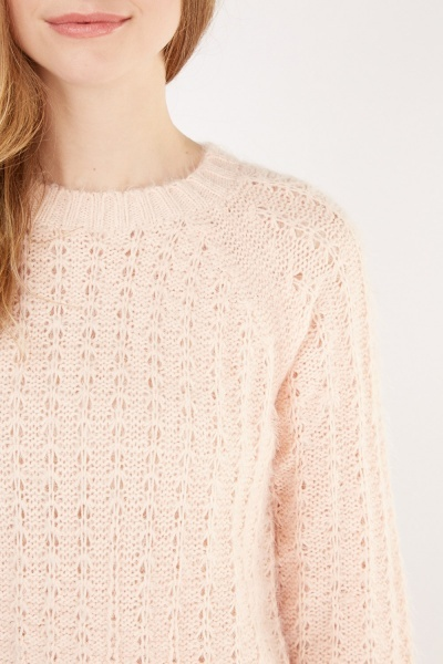 Patterned Knit Jumper