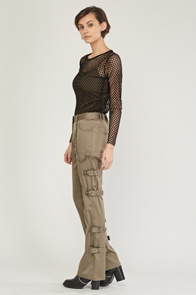 Buckle Side Combat Trousers