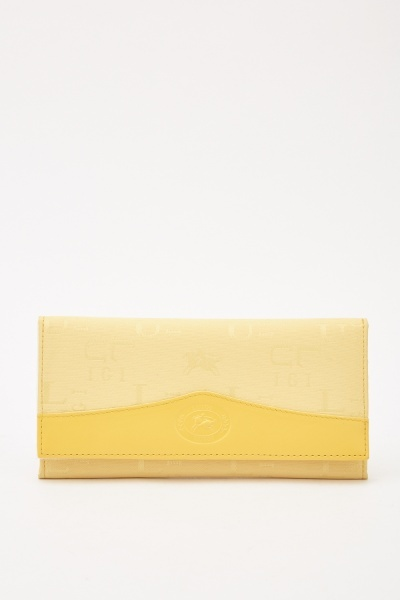 Logo Embroidered Purse
