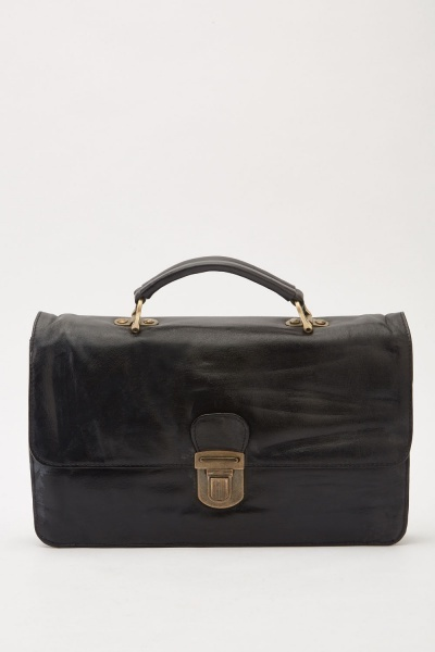 Push Clip Front Brief Bag