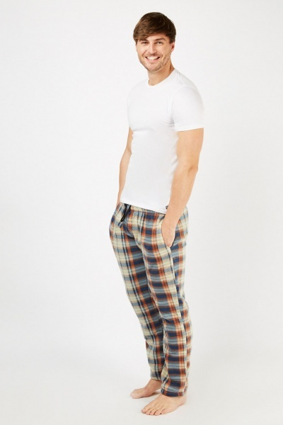 Checked Pyjama Trousers