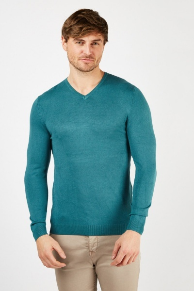 Fine Knit Basic Jumper