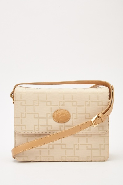 Contrasted Cross Body Bag