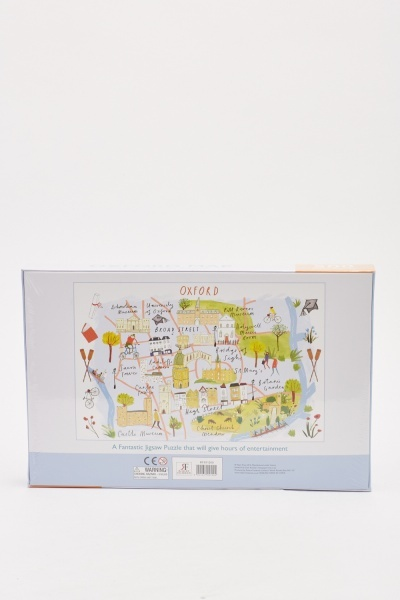 Oxford Map 500 Piece Puzzle