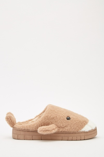 Shark Fluffy Slippers