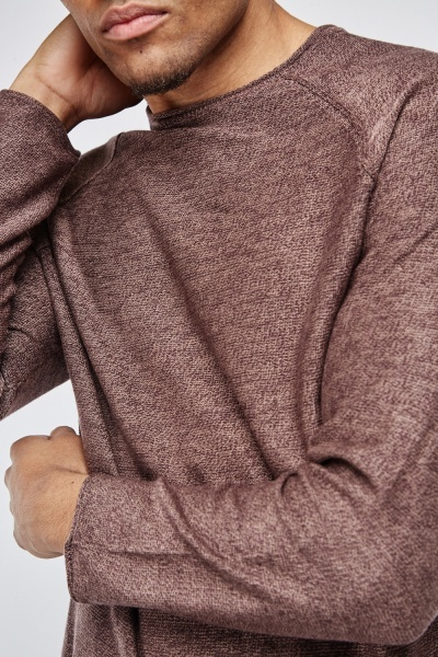 Round Neck Raglan Sleeve Jumper