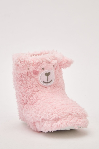 Kid's Fluffy Indoor Shoes