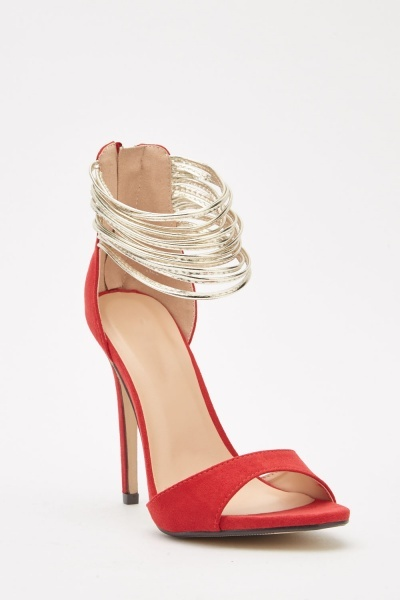 Bangle Strappy Heeled Sandals