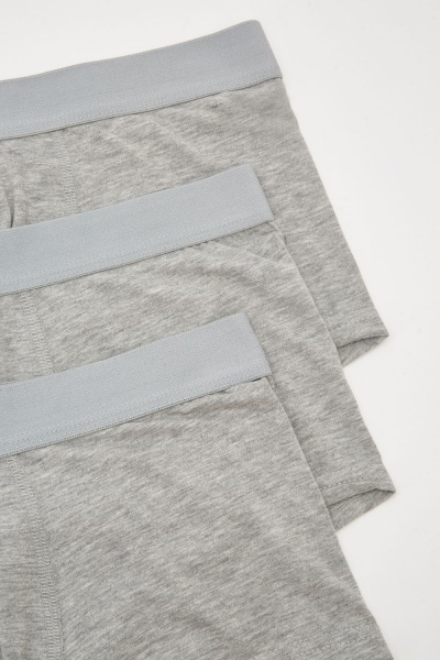 3 Pack Of Cotton Stretch Low Rise Boxers