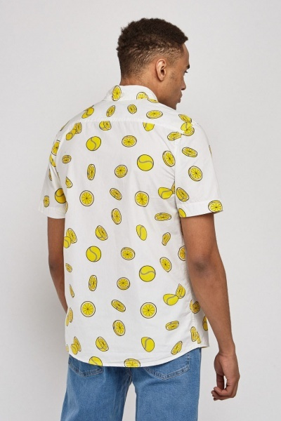 Lemon Printed Shirt
