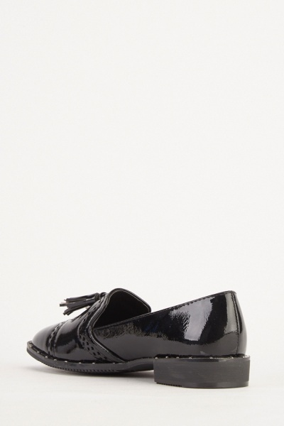 Tassel Detail Front Loafers