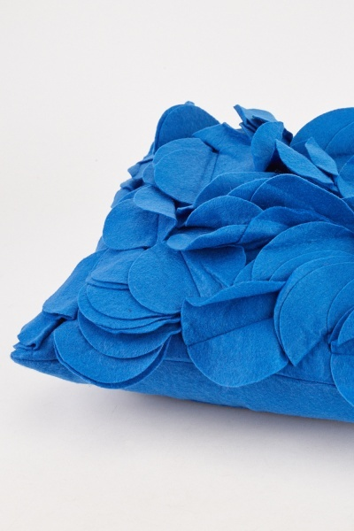 3D Ruffle Felt Cushion Cover