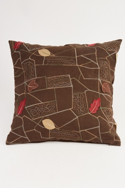 Stitched Trim Cushion Cover