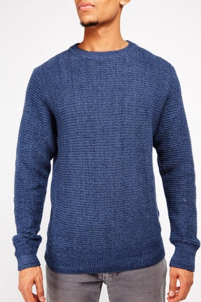 Chunky Knit Textured Jumper
