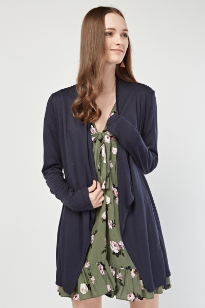 Waterfall Long Line Cardigan