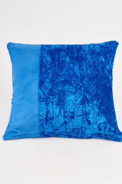 Velveteen Contrasted Cushion Cover
