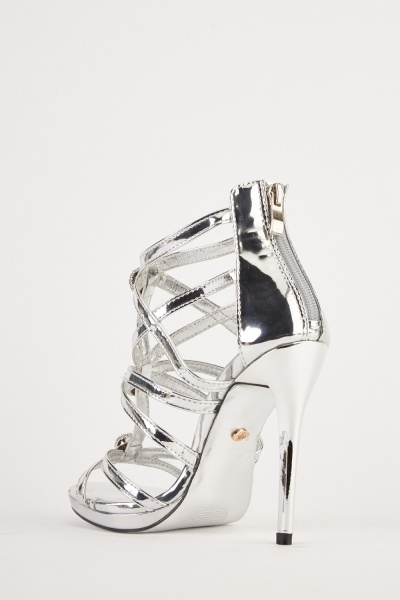 Metallic High Heels