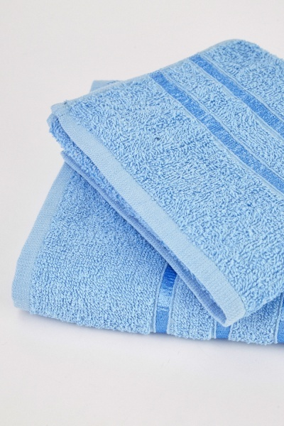 Luxury Cotton Set Of Two Towels