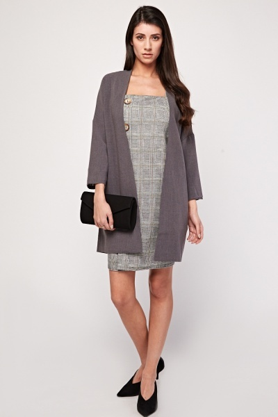 Open Front Duster Coat